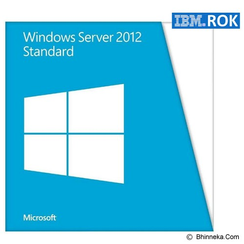 LENOVO Windows Server 2012 Standard ROK 2CPU/2VMs [00FF248] - Server Software Windows Os Oem